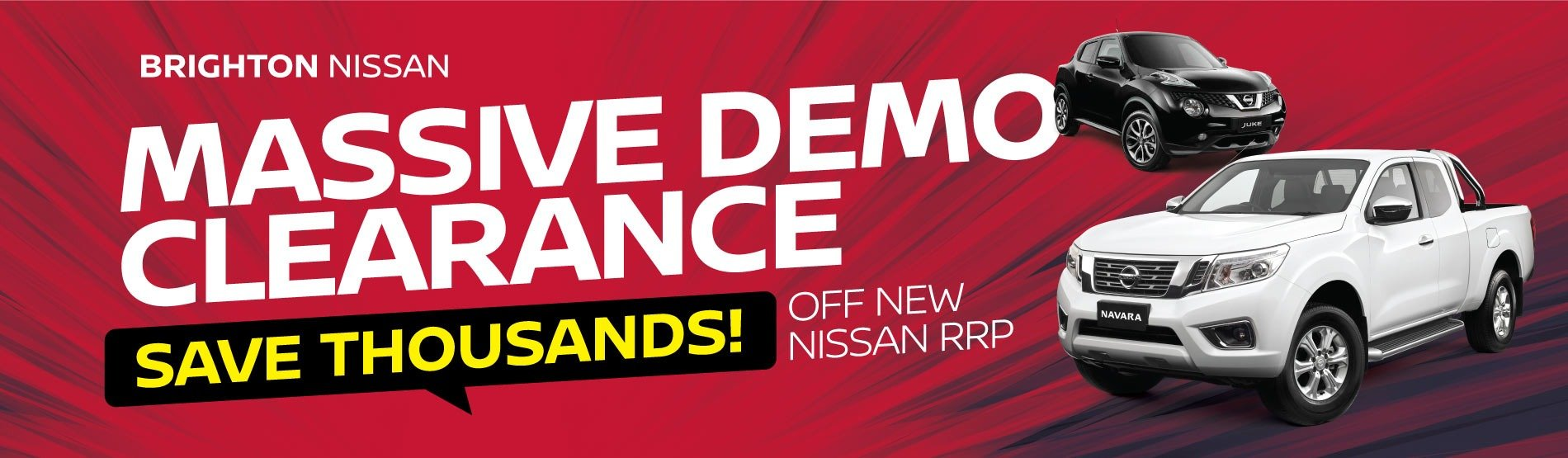 Brighton Nissan's Massive Demo Clearance
