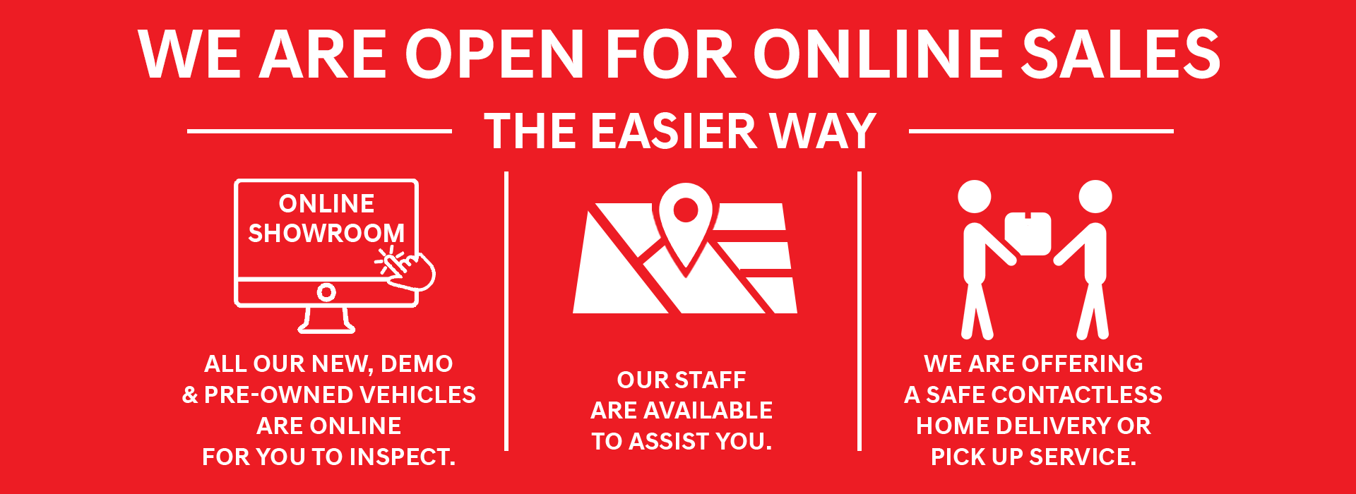 Dandenong Mitsubishi - We are open online