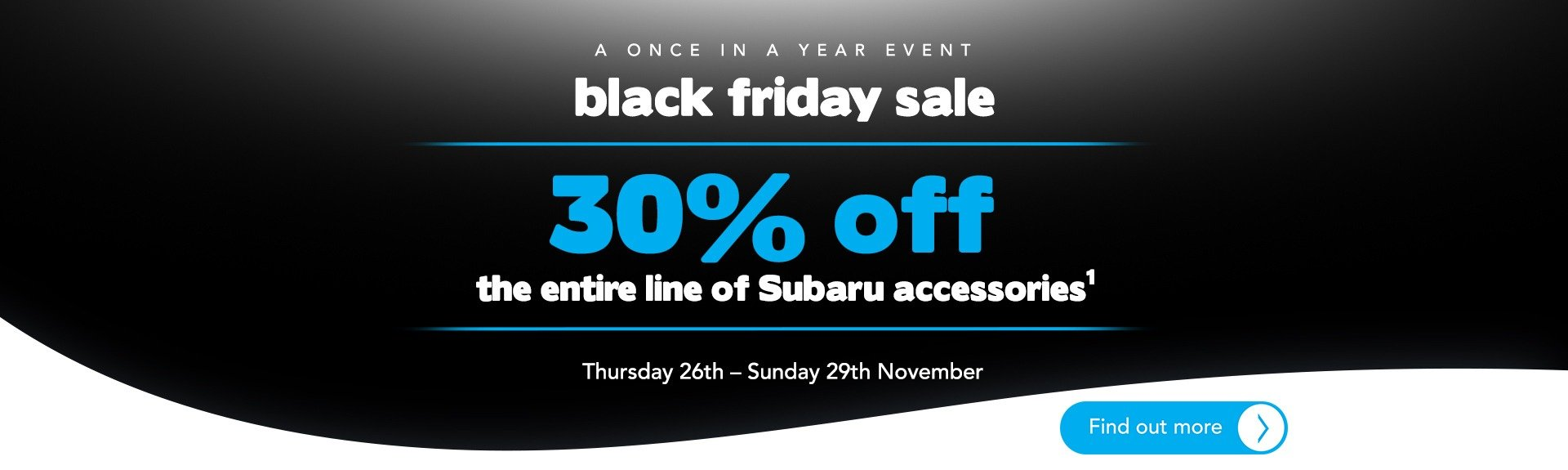 Trivett Subaru - Black Friday Sale