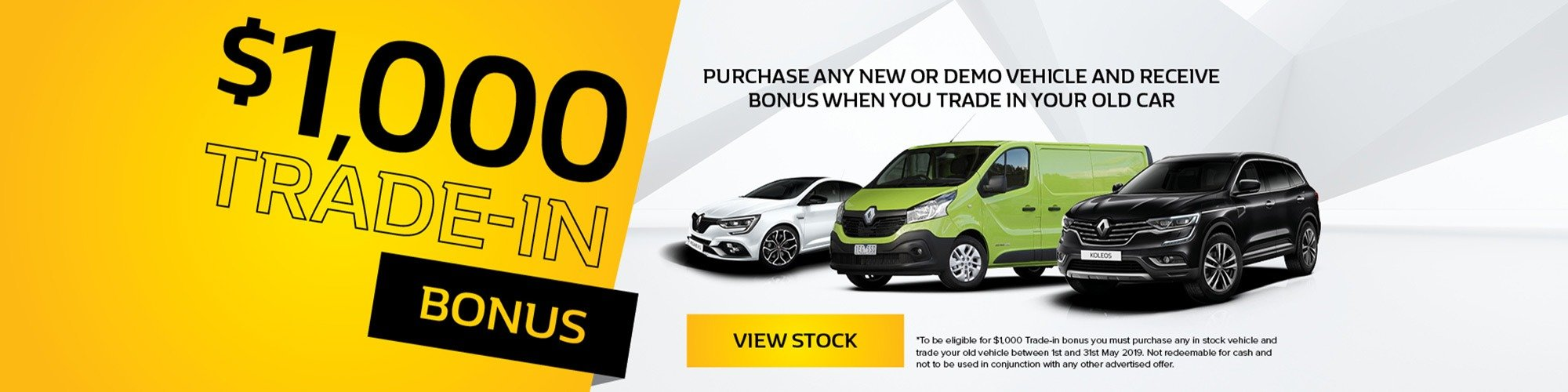 Dominelli Renault Trade In