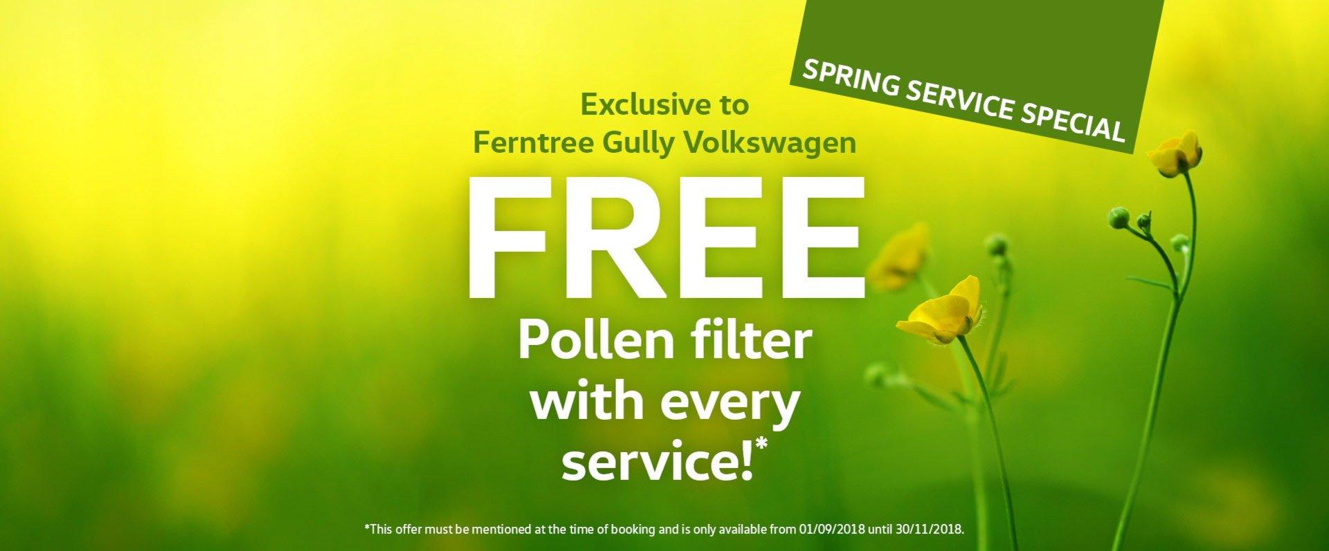 Free Pollen Filter