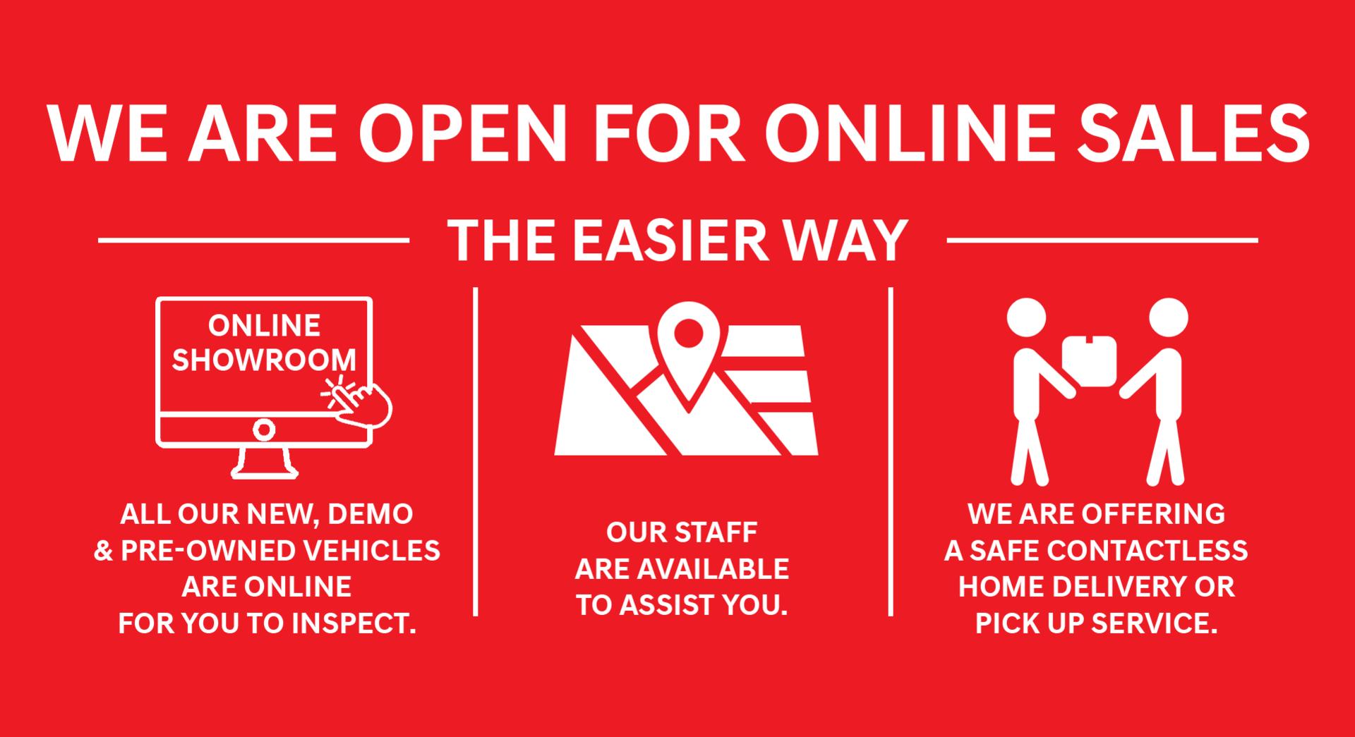 Booran Suzuki - We are Open online