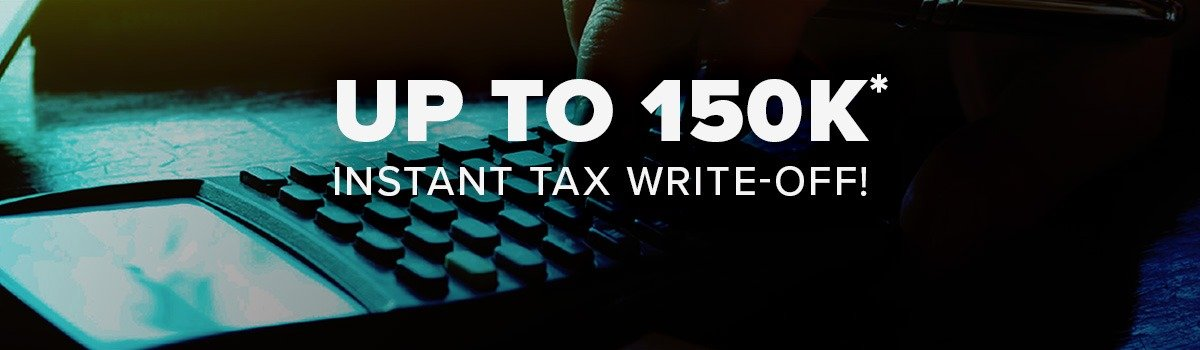 Up to $150k* instant tax write-off! Large Image