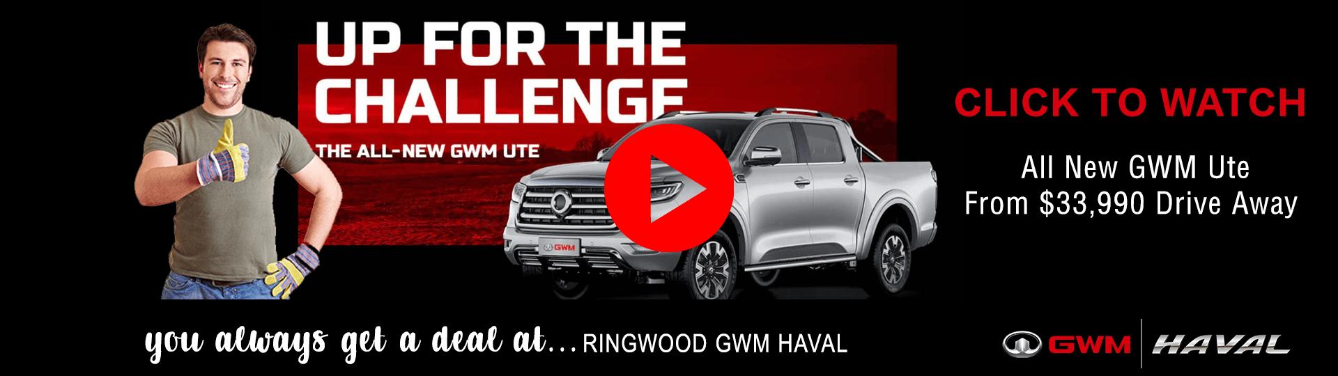 Ringwood GWM HAVAL - GWM UTE