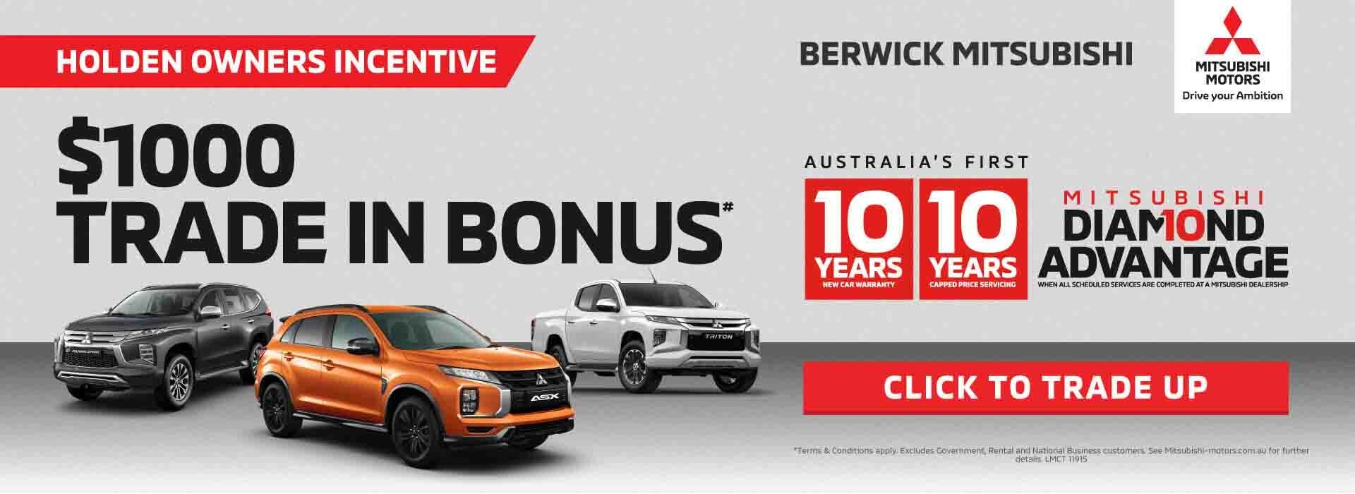 Berwick Mitsubishi Trade-in Offer