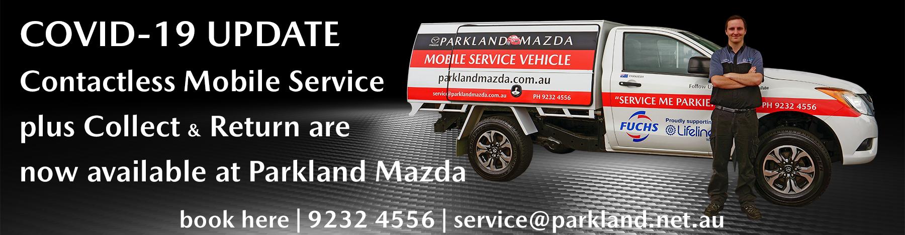 COVID-19 MOBILE SERVICE UPDATE