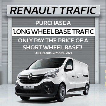 Barry Bourke Renault Exclusive Trafic Offer! Small Image