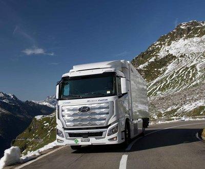 Hydrogen Hyundai Truck Europe image