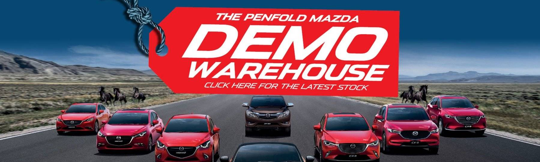 Penfold Mazda Demo Warehouse