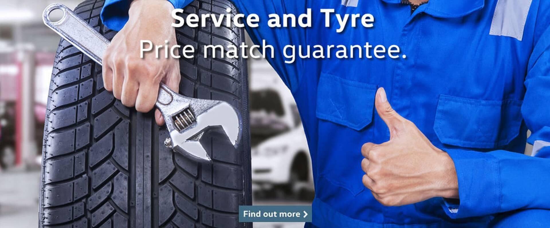 McCarrols Service Tyre Guarantee