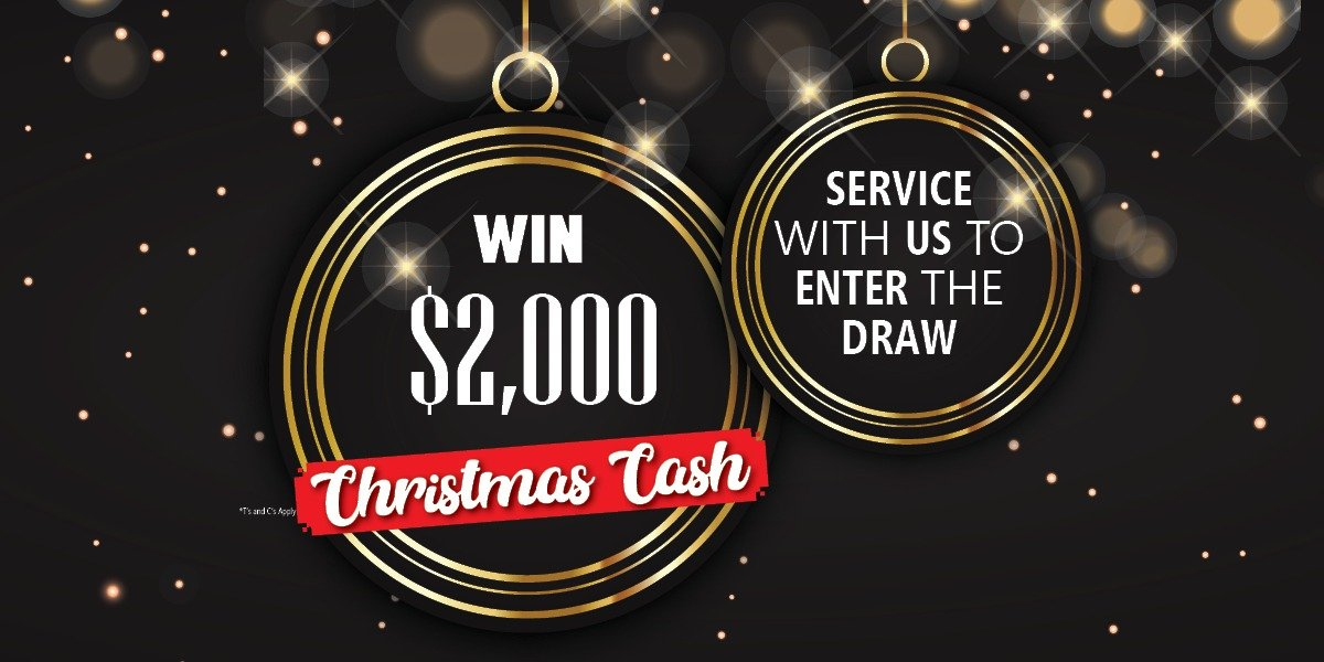 blog large image - Book a service for your chance to win Christmas cash