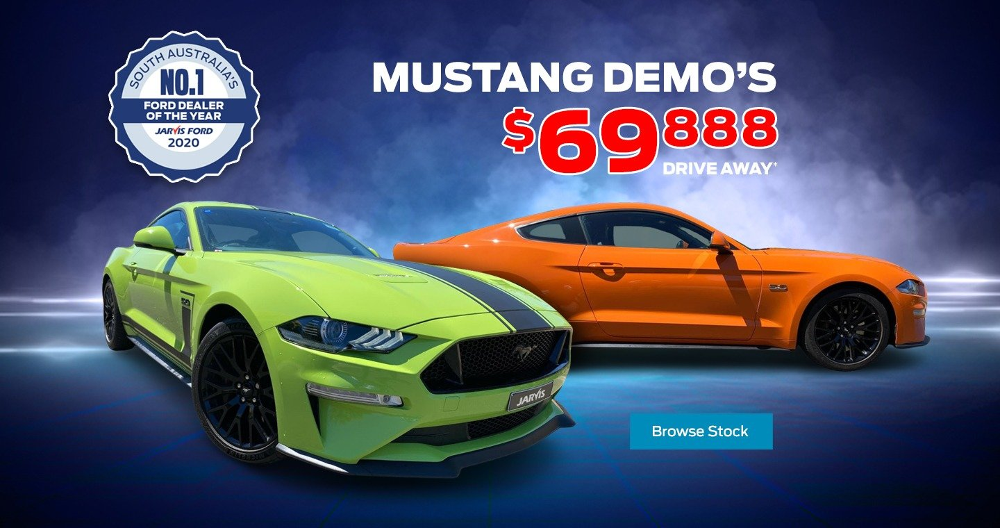 Ford Mustang Demos