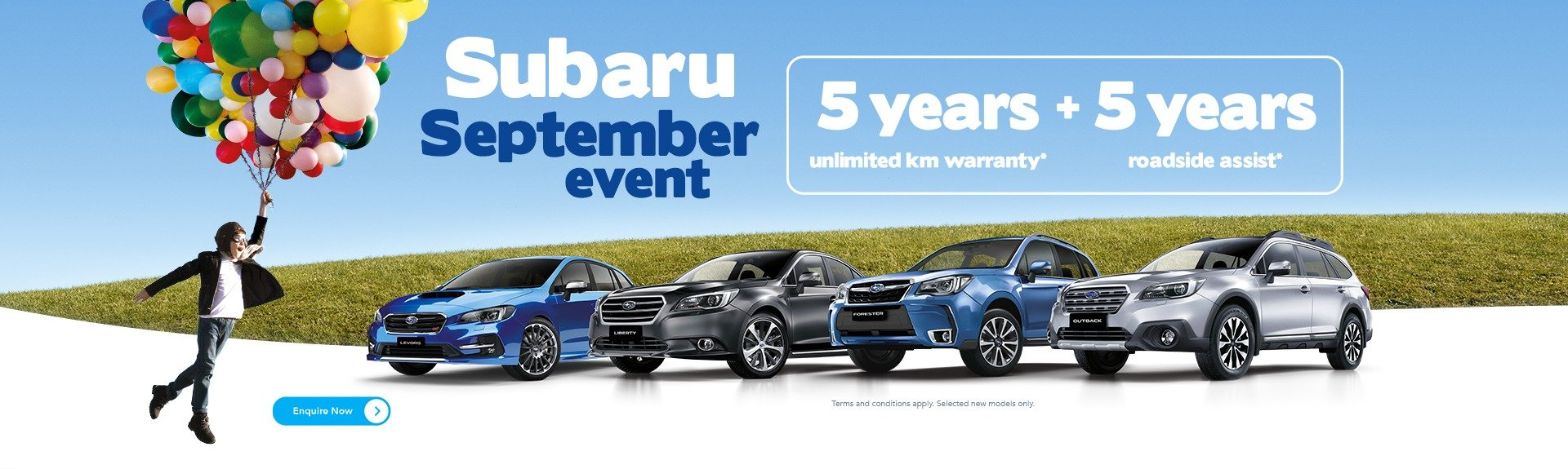 Subaru September Offer