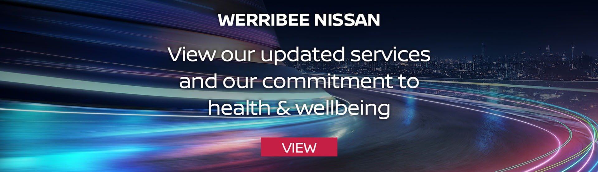 Werribee Nissan - Health & Wellbeing Update