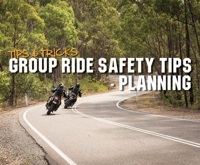Group Ride Safety Tips - Planning image