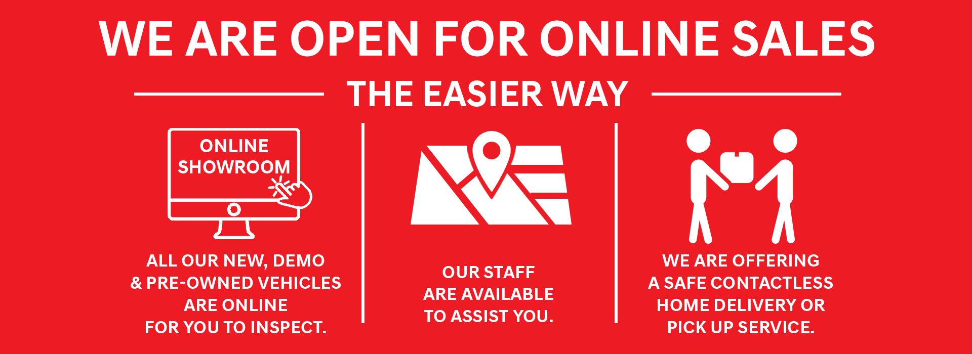 Cranbourne Mitsubishi - We are open online