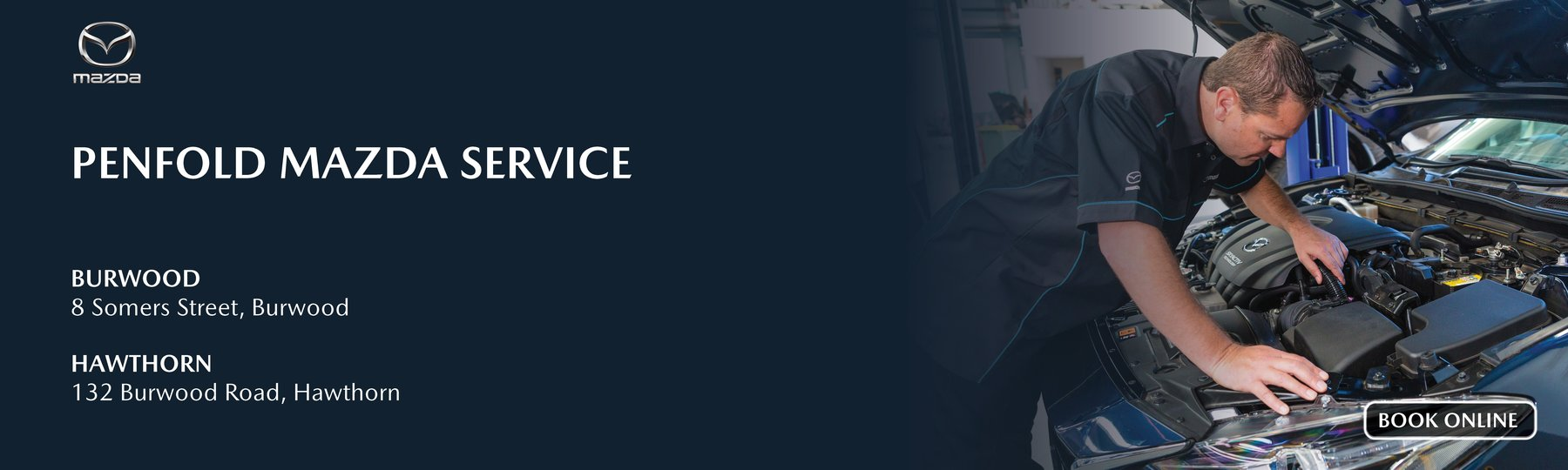Penfold Mazda Burwood Service Centre