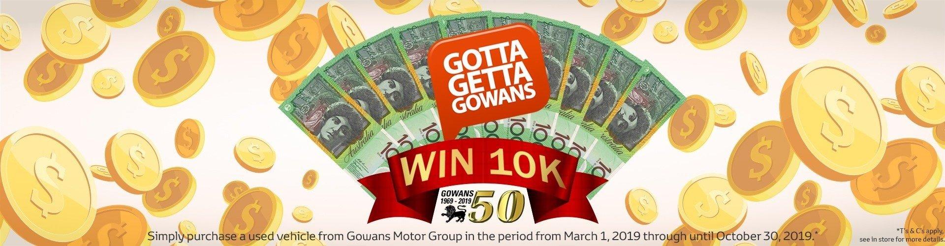 Win 10K Cash!