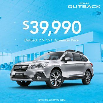 Outback 2.5i from $39,990 Small Image