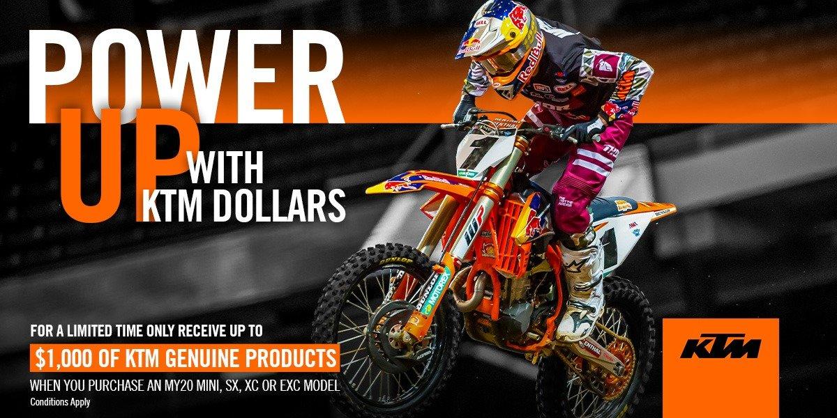 blog large image - KTM Power Up Dollars