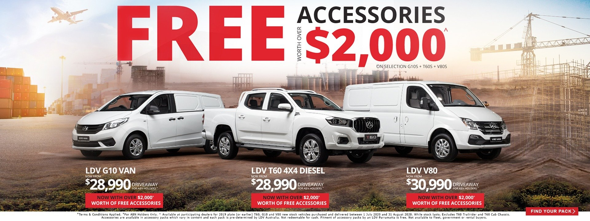 LDV Parramatta $2000 Off LDV Vehicles