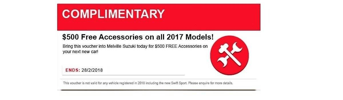 $500 FREE Accessories! Large Image