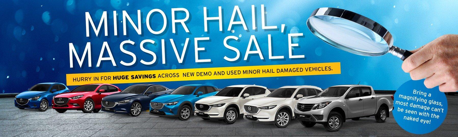 Minor Hail, Massive Sale