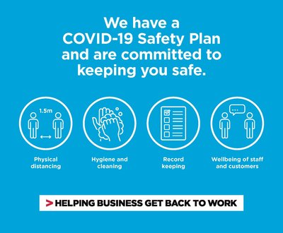 COVID SAFE - NSW Business image