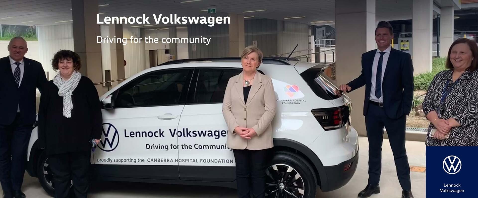 Lennock Volkswagen Driving For The Community