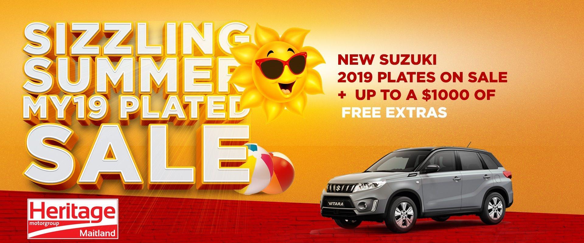 2019 Plate Clearance Sale Suzuki, Vitara, Baleno, Swift, Maitland, Newcastle, Kurri Kurrin, Cessnock