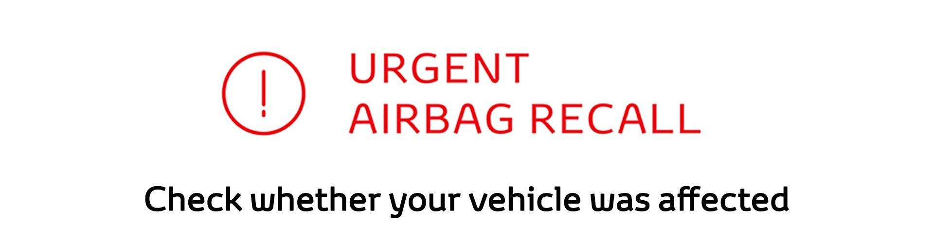 Takata Airbag Safety Recall