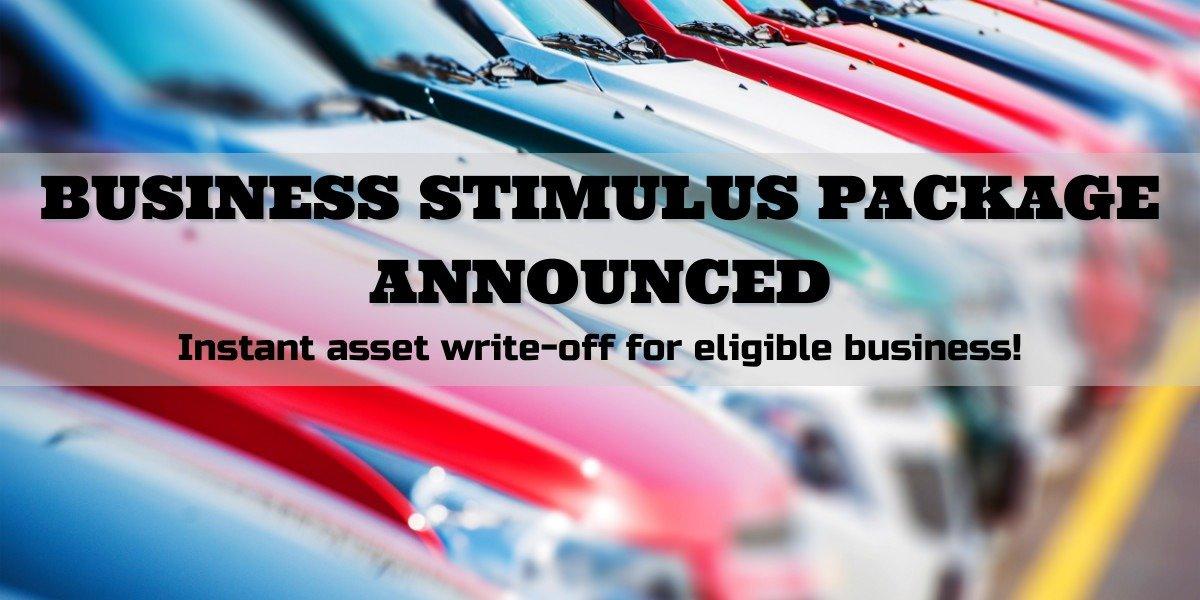blog large image - Government Announces Economic Stimulus Package.