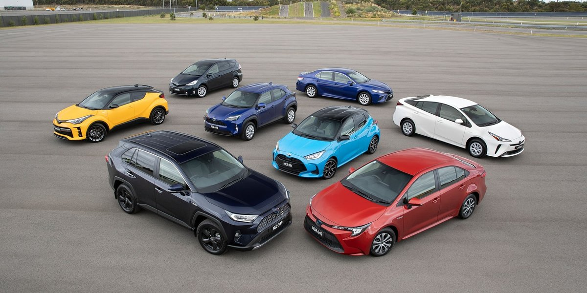 blog large image - Toyota Celebrates 200,000 Hybrid Electric Sales in Australia