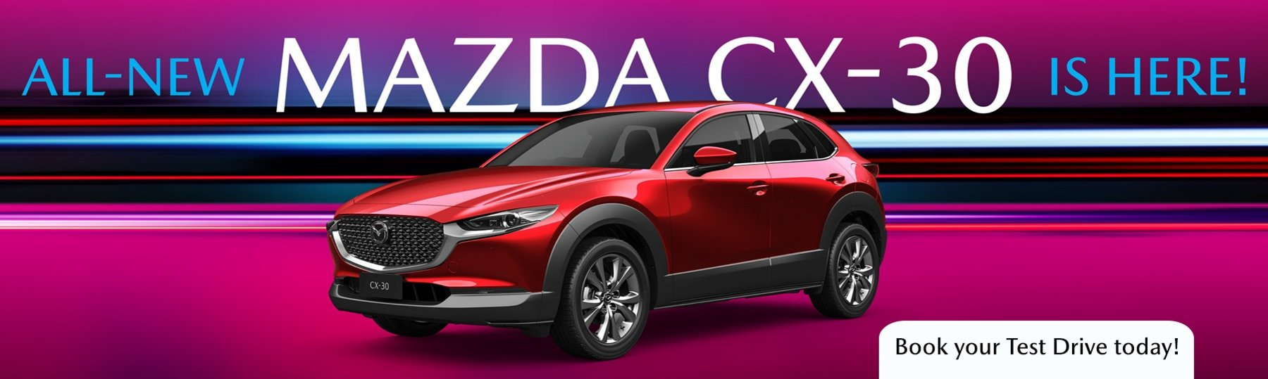 The All-New Mazda CX-30 is here!
