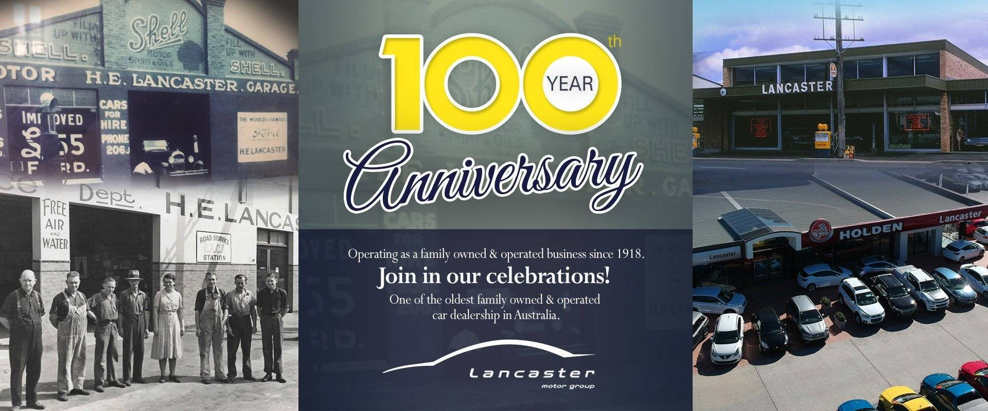 Lancaster Motor Group - 100 Year Anniversary