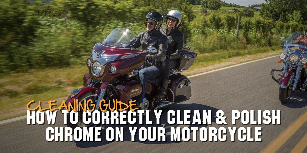 blog large image - How To Correctly Clean & Polish Chrome On Your Motorcycle   Cleaning Guide