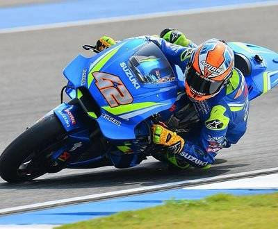 Rins Motogp Rossi Secures Podium Suzuki Ducati Yamaha Argentina Marquez image