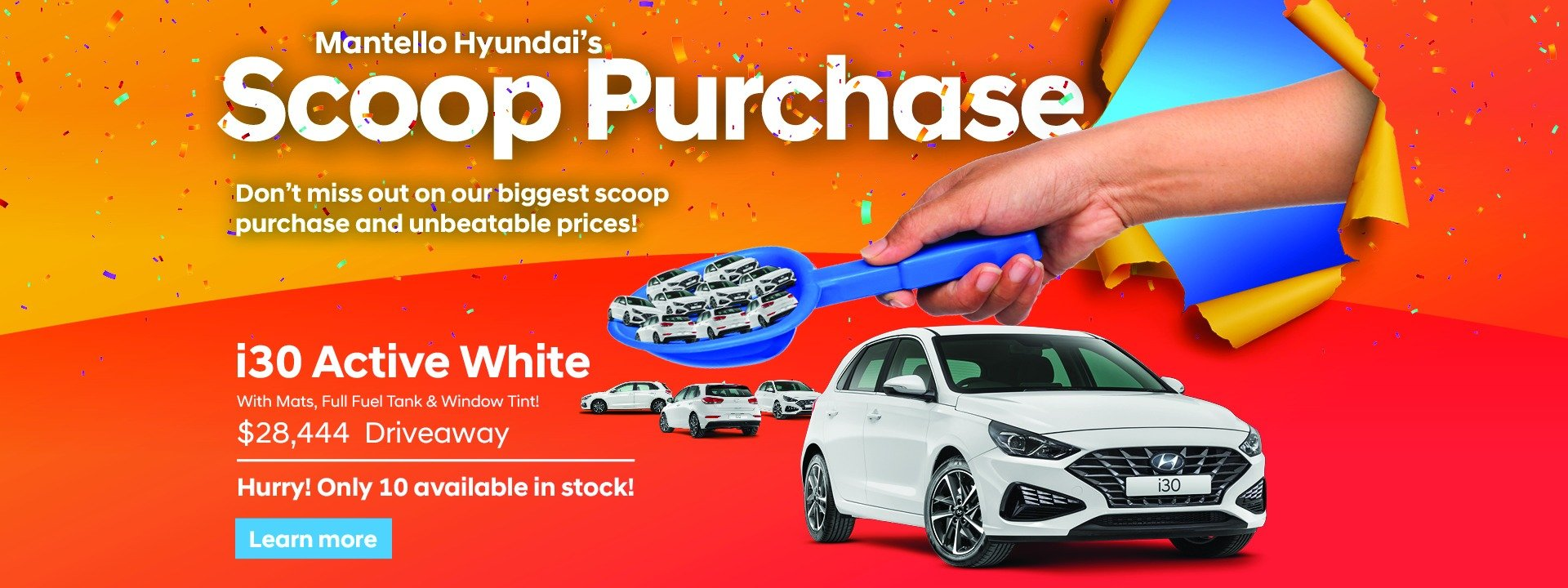 i30 Scoop Purchase