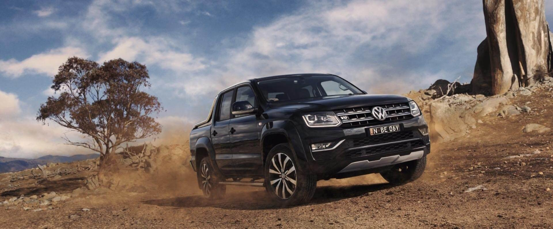 The Amarok V6 Ultimate 580 no available at Beachside Volkswagen