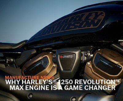 Why Harley's® 1250 Revolution™ Max Engine Is A Game Changer! image