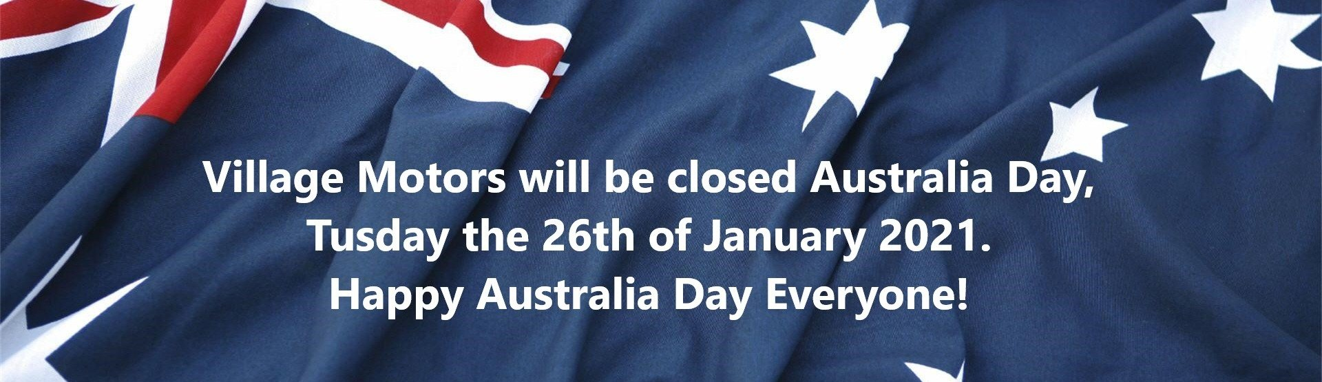 Australia Day Closed