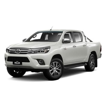 Brand New 2018 Toyota HiLux 4x4 SR5 Double-Cab Pick-up (Crystal Pearl) Small Image
