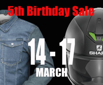 Birthday Catalogue Sale Olivers Motorcycles image