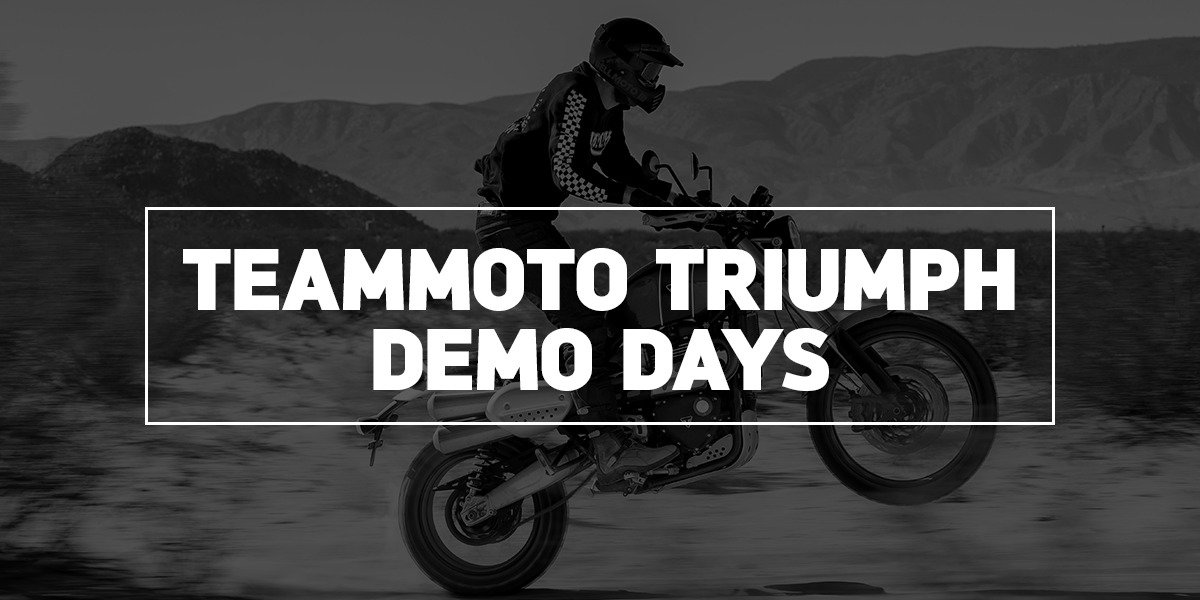 blog large image - TeamMoto Triumph Demo Days