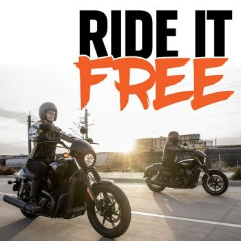 Ride It Free At Morgan & Wacker Harley-Davidson® Small Image
