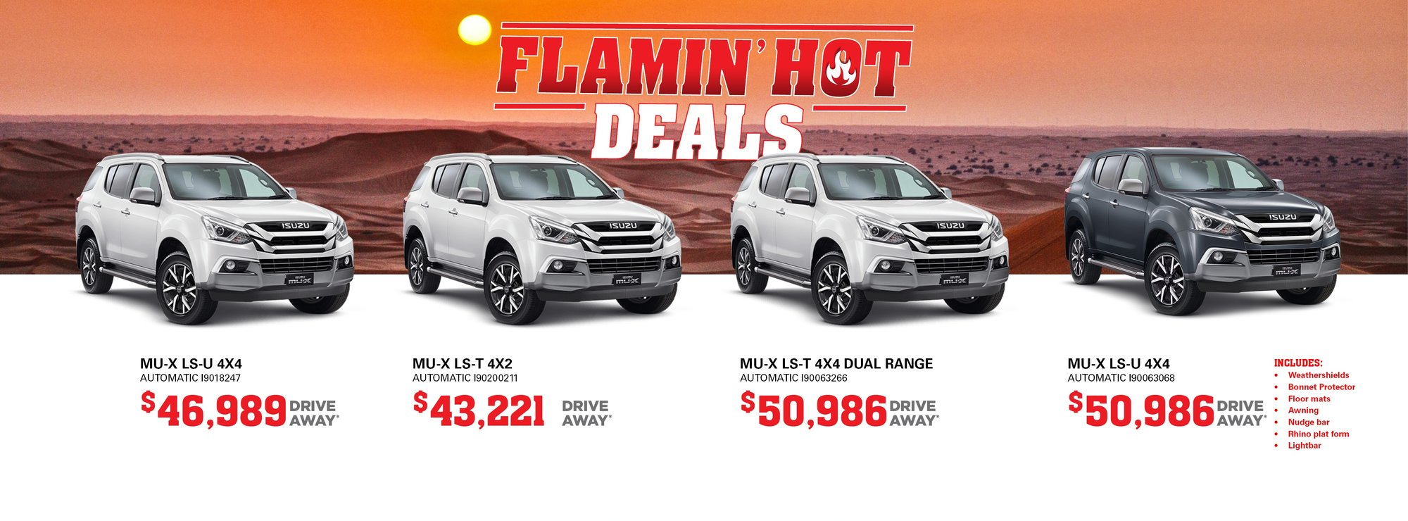 cardiff isuzu ute flamin hot deals
