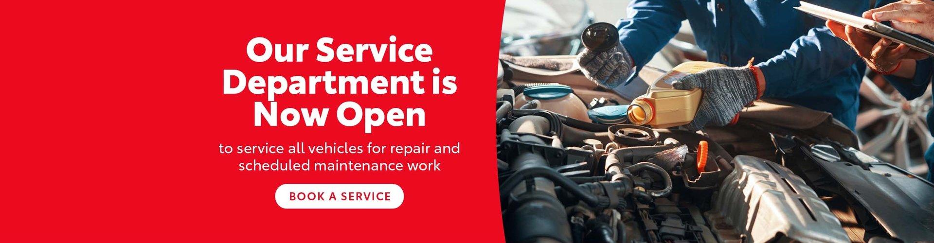 Croydon Toyota - Book a service