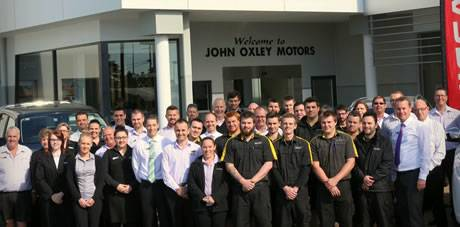 John Oxley Motors staff Renault