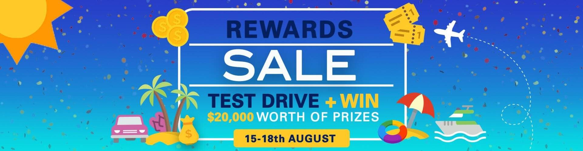 Toyota-Rewards Sale