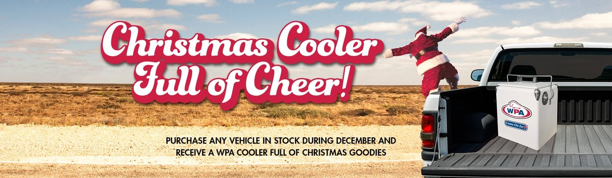 WPA Christmas Cooler Full of Cheer!  Large Image